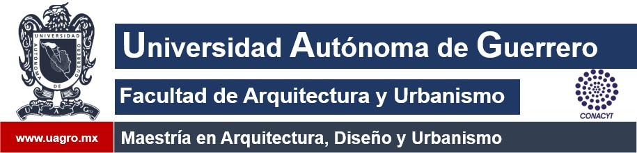 Maestría en Arquitectura, Diseño y Urbanismo